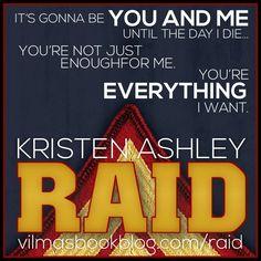 RAID by Kristen Ashley