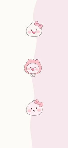 Pink Wallpaper Cartoon, Pink Wallpaper Girly, Kawaii Wallpaper, Wallpaper Iphone Cute, Cool Wallpaper, Wallpaper Backgrounds, Cute Wallpapers For Ipad, Cute Cartoon Wallpapers, Backgrounds Tumblr Pastel
