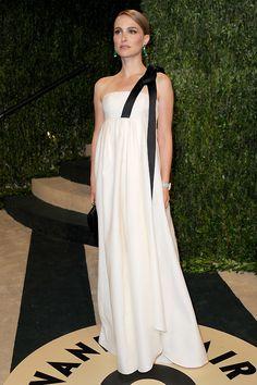 Natalie Portman, Vanity Fair Oscar party, 2013