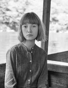 Photograph by Nicholas James Seaton. Summer Outfits Women, Simple Outfits, Hair Styles 2016, Short Hair Styles, Toast Uk, Stealing Beauty, Bob With Bangs, Aesthetic Beauty, Powerful Women