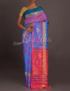 alini Fest Of Colors Appeasing #WeddingSilkSaree