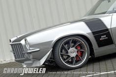 2nd Generation Camaro SS Split Bumper