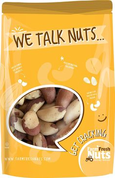 BRAZIL NUTS - RAW - Super Crunchy - Naturally Healthy and Delicious Resealable Bag - FARM FRESH NUTS BRAND (1 LB) -- Hurry! Check out this great item : Fresh Groceries