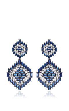 Navajo Earrings by Nam Cho for Preorder on Moda Operandi