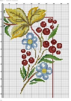 Cross Stitch Borders, Cross Stitch Patterns, Bargello, Patterns In Nature, Table Toppers, Flower Crafts, Alphabet, Tapestry, Kids Rugs