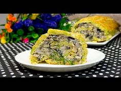 YouTube Spanakopita, Salmon Burgers, Quiche, Cooking Recipes, Breakfast, Ethnic Recipes, Buffet, Food, Youtube