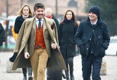 Tommy Ton's Street Style: Pitti Uomo Fall 2013: Style: GQ from: www.eral55.com