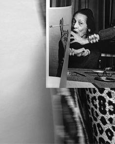 Unfoldin Vreeland  by Alessandro Gori Laboratorium - Diana Vreeland after Diana Vreeland