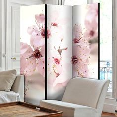 Zoom Mystery Room, Marble Room, 4 Panel Room Divider, Golden Tree, Buddha Meditation, Cherry Blossom, Beautiful Homes, Lily, Curtains