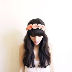 newdarlings Let's be still. | Floral crown by @monroeandharlow
