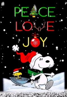 Click visit button for Snoopy CHRISTMAS present