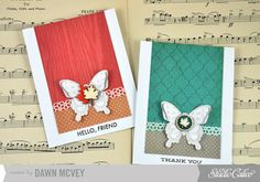 Butterfly Note Cards by Dawn McVey at Studio Calico