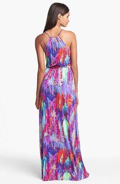 Presley Skye Print Jersey Maxi Dress