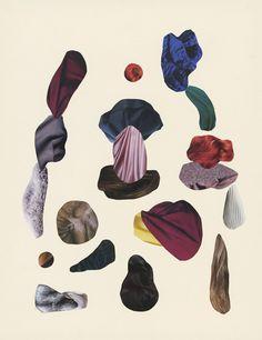 Swedish artist Malin Gabriella Nordin works with the theme of 'rocks'.