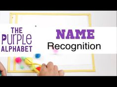 Writing Your Name - Name Recognition Activity - YouTube