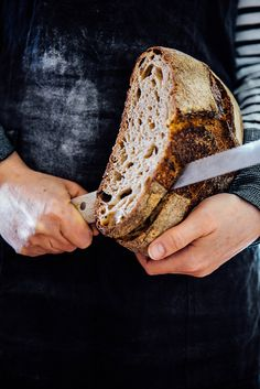 sourdough bread for novice Rustic Food Photography, Healthy Bread Recipes, Bread Art, Our Daily Bread, Mets, Sourdough Bread, Artisan Bread, Bread Rolls, How To Make Bread