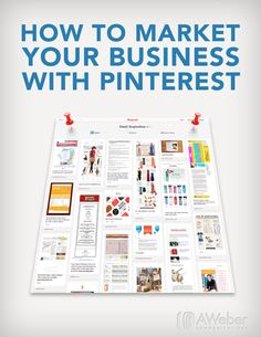 #Pinterest #Tipps - #post from Aweber: 9 Pinteresters for email marketing strategies, plus a free report/video on the basics of Pinterest