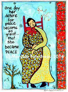 Marylou Falstreau - Women and the Hourglass Series® Fine Art Prints and Cards