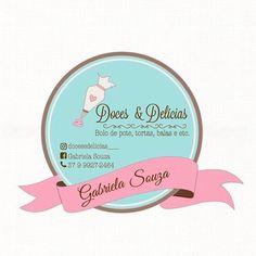 Logo Doce, Baking Organization, Ice Cream Logo, Baking Station, Cupcake Logo, Baking Logo, Cake Logo Design, Wedding Posters, Retro Logos