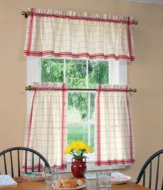 Kitchen on pinterest retro kitchens gingham curtains and vintage
