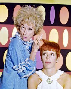 Carol Burnett and Phyllis Diller