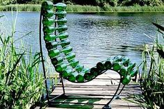 Love this recycled chair by Polish designer Pawel Grunert on GreenMuse.