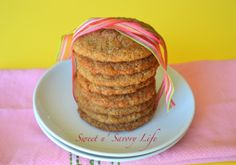 Sweet 'N Savory Snickerdoodles and more Gluten-Free Snickerdoodle Recipe Favorites on  MyNaturalFamily.com #glutenfree #snickerdoodle #recipes