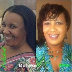 Before & After: Martina V.   Hair & Makeup.  Book Now: 404.438.5813.