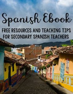 Welcome back, Teachers! Find some inspiration for your Grades 6-12 Spanish classes this year with tips and freebies from many of the top Spanish sellers on TpT. Each page is packed with tips, freebies, and other resources to help you add some fun and engagement to your