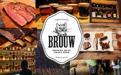 This is the place for smoked BBQ in Amsterdam. Think ribs, brisket and pulled pork with homemade BBQ sauce and 2 sides of your choice su. Restaurant Design, Restaurant Bar, Amsterdam Restaurant, Smoke Bbq, Dinner With Friends, Smoking Meat, Great Restaurants, So Little Time, Craft Beer