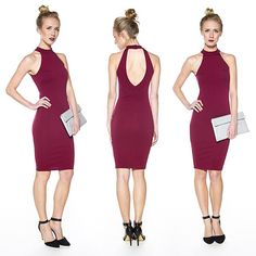 New! Just in time for holiday parties! •Be All Bodycon Midi Dress• Available in…