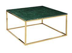 CARRIE Couchtisch 90 Messing/Grün in der Gruppe Für den Innenwohnbereich / Tische / Couchtische bei Furniturebox (100-78-106290)