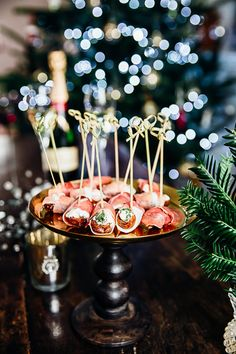 Herby Cheese Stuffed Dates Wrapped in Prosciutto
