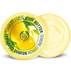 Sweet Lemon Body Butter   The Body Shop ® $10