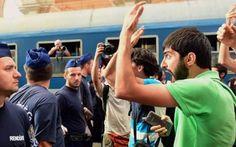 La città ungherese invasa dai migranti #migranti #profughi #budapest #europa