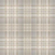 Norwall Flourish Ft Beige, Coffee, Sepia, Grey, Dove Vinyl Plaid Prepasted Soak And Hang Wallpaper Grey Plaid Wallpaper, Vinyl Fabric, Green And Grey, Beige, Maps, Printables, Gallery, Blue Prints, Roof Rack
