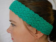 Ravelry: Summer Garden Headband pattern by Stephanie Nicholson
