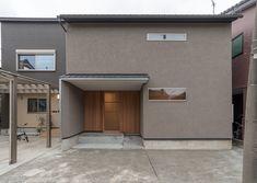 落ち着いた色が好き!グレー&モカ色の外観特集 Japanese Modern, Modern Exterior, House Painting, Paint Colors, Sweet Home, House Design, Colours, Building, Outdoor Decor