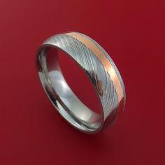 Copper Wedding Band On Pinterest
