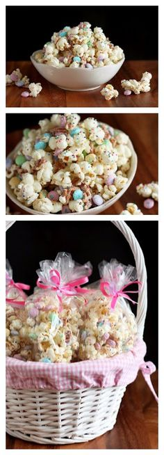 Funfetti Popcorn (or Bunny Bait for Easter)