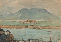 Knockorea, Jack Butler Yeats Glasgow Girls, Jack B, Irish Art, Famous Artists, Butler, Celtic, Arts And Crafts, Sketches, Ireland