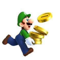 Luigi speelt ook in de Nieuw Super Mario Bross 2 voor de Nintendo 3DS mee!