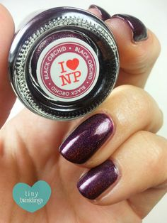 "*tiny twinklings*: ILNP ""Black Orchid"""