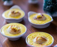 Cassolettes de St Jacques safranées au Kiri, une recette délicieuse à tester de toute urgence pour Noel ou le réveillon :) #kiri #recette #saint #jacques #safran #gourmand #Noel #christmas #recipe #miam #yummy