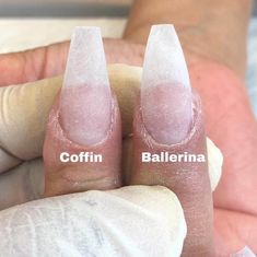 Coffin or ballerina tough choice nails dm if you know the source ballerina nails ombre nails glitter nails spring nails Aycrlic Nails, Coffin Nails, Cute Nails, Pretty Nails, Acrylic Nail Shapes, Best Acrylic Nails, Long Square Acrylic Nails, Ballerina Nails Shape, Short Ballerina Nails