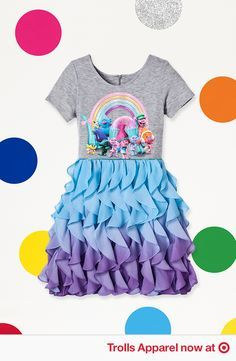 6008dbc81578 Rock Your True Colors in style. Find Apparel and more fun DreamWorks Trolls  gear at Target.