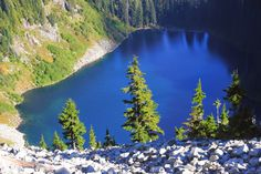 Alpine Lakes Wilderness, Alaska Lake