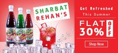 Refresh your body and mind with rehan #sharbat treditional taste for more information - http://www.bazaarcart.com/Products/Beverages-Drinks-Sharbat--Thandai/Rehan-Sharbat/Rehans-Traditional-Taste-Sharbat/pid-11173924.aspx