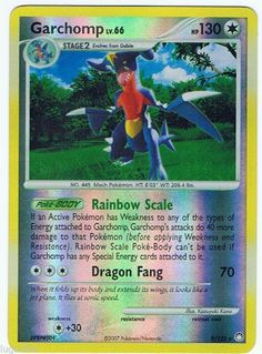 #Pokemon Card Myst Treasures Reverse Holo Rare #Garchomp 9/123 FREE COMBINED SHIP
