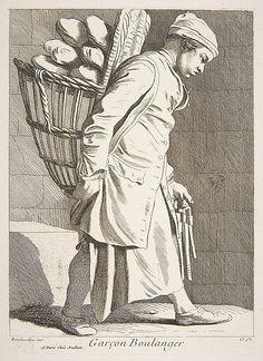 Baker Boy Anne Claude Philippe de Tubières, Comte de Caylus  (French, Paris 1692–1765 Paris)